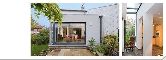 Petite extension maison amazing extension duune petite for Petite extension bois